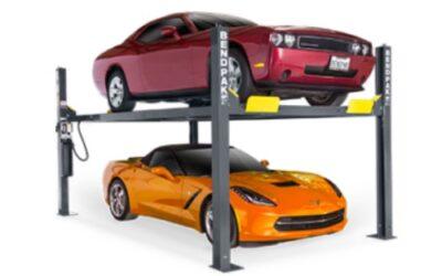 $5995 – Bend Pak 4 Post 9,000 lb. HD-9