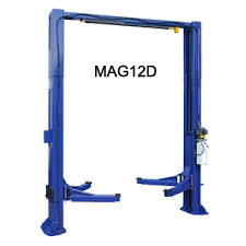 $6895 – Magnum 12000 lb. Heavy-Duty Two Post Lift with Direct Drive Cylinders