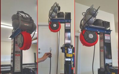 Lift Mounted Retractable Air Reel