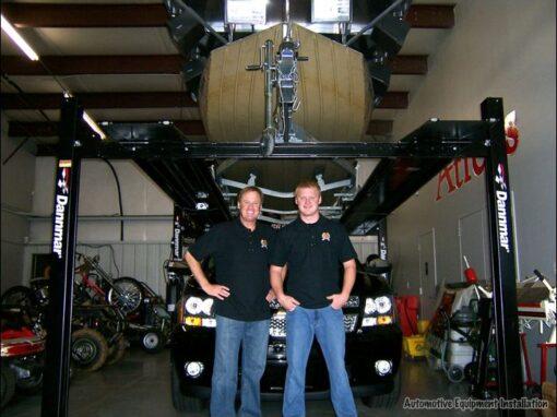Rusty & Steven Wallace